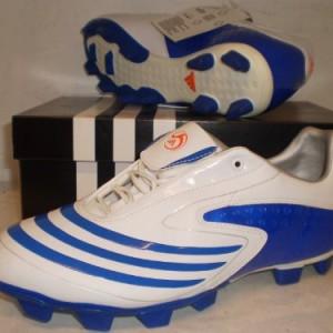 adidas - Botas de fútbol para hombre Blau - weiß 6