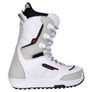 BURTON BOTAS SNOWBOARD INVADER WHITE/BLACK/RED talla 42.5