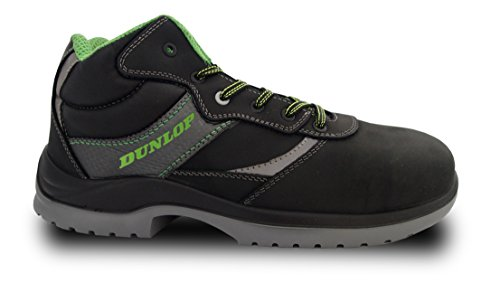 Dunlop First One High – Botas de protección laboral S3 SRC, color negro