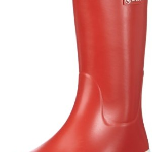 Aigle Malouine BT rouge/blanc - Botas de agua de goma mujer