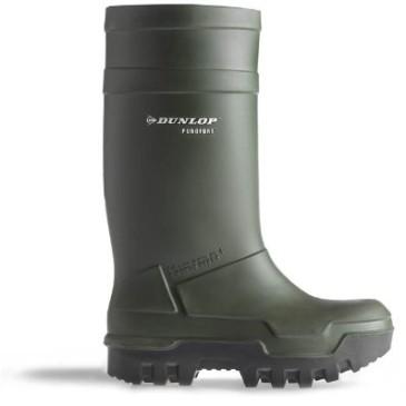 Dunlop C662933 Hombre Purofort Termo Total Seguridad Botas De Goma Sin Cordones