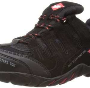 Lee Cooper Workwear S1P Trainer LCSHOE008 - Zapatos de cuero, color negro, talla 44
