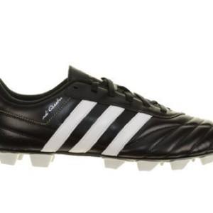 adidas - Botas de fútbol de material sintético para hombre negro / blanco 40 2/3