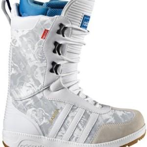 Adidas THE SAMBA W Botas de Snowboard Blanco para Mujer