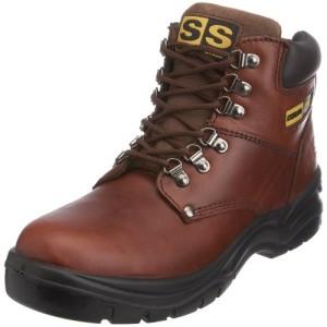 Sterling Safetywear Sterling Steel SS807SM SS807SM - Calzado de protección de cuero para hombre