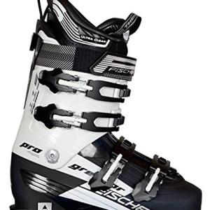 Fischer Löffler Progressor 115 - Botas de esquí, color blanco y negro negro Talla:28,5