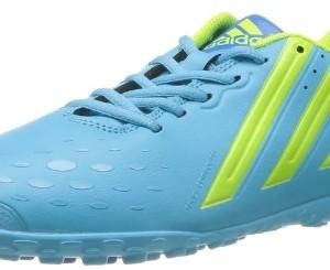 adidas - Botas de fútbol para hombre azul