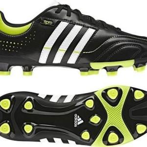 adidas - Botas de fútbol para niño negro negro