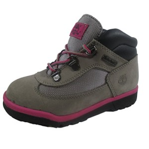 Timberland niños Hiker Field Mid botas de piel - negro en segundos