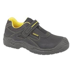 Amblers de seguridad para FS77 acolchado y forrado en piel el cuello botas de seguridad para hombre informal Unisex Diseño de zapatos con zapatillas