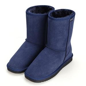ACEVOG Botas Planas de Nieve Zapatos de invierno para mujer
