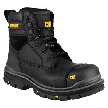 Caterpillar gris para hombre calzado de seguridad/botas de seguridad