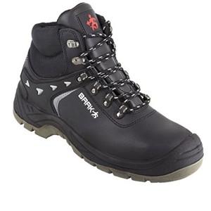 Baak 8634 - Grandes botas altas botas de protección s3 bert src wr seguridad en la construcción, negro, 45-00-37