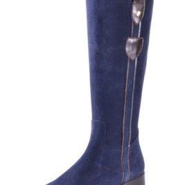 Alba Moda - Botas de Piel para mujer Azul azul