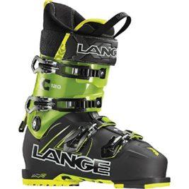 Lange-botas de esquí XC 120-hombre-negro