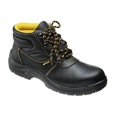 Wolfpack – Botas seguridad piel, color negro Nº 47