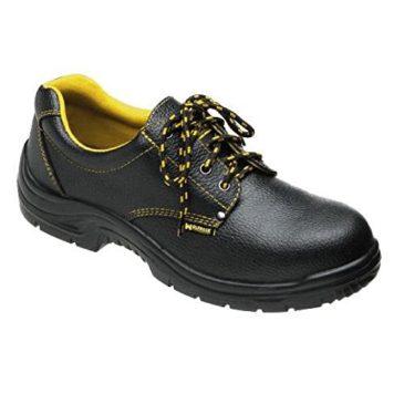 Wolfpack – Zapatos seguridad piel, color negro Nº 46