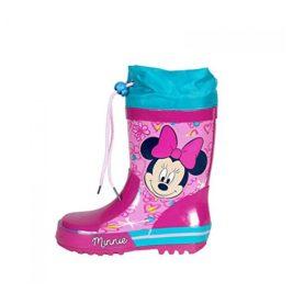 Botas de agua goma de Minnie Mouse